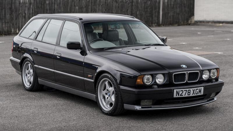 Chris Harris pondrá a la venta su BMW M5 Touring 1996.