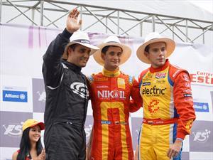 Carlos Muñoz  alcanzó el podio en la Carrera de la Estrellas 2013