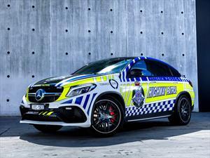 Mercedes-AMG GLE 63 S Coupé es la nueva patrulla de Australia