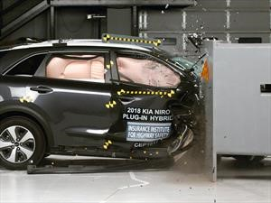Kia Niro 2018 gana el Top Safety Pick + del IIHS
