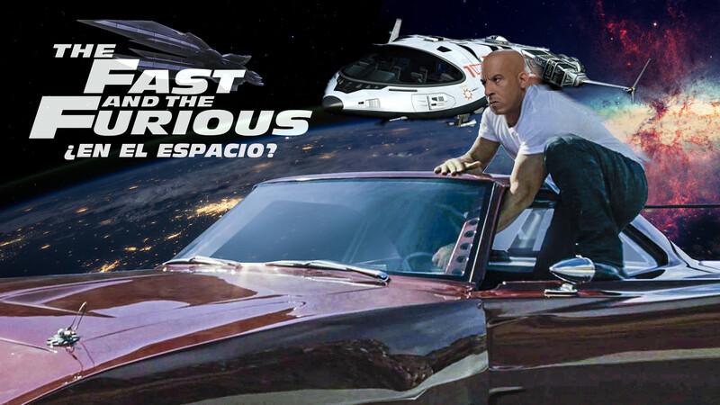 ¿Te lo imaginás a Toretto en el espacio? Rápidos y Furiosos 9 sí