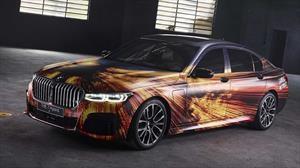 BMW 745Le híbrido se convierte en el nuevo Art Car