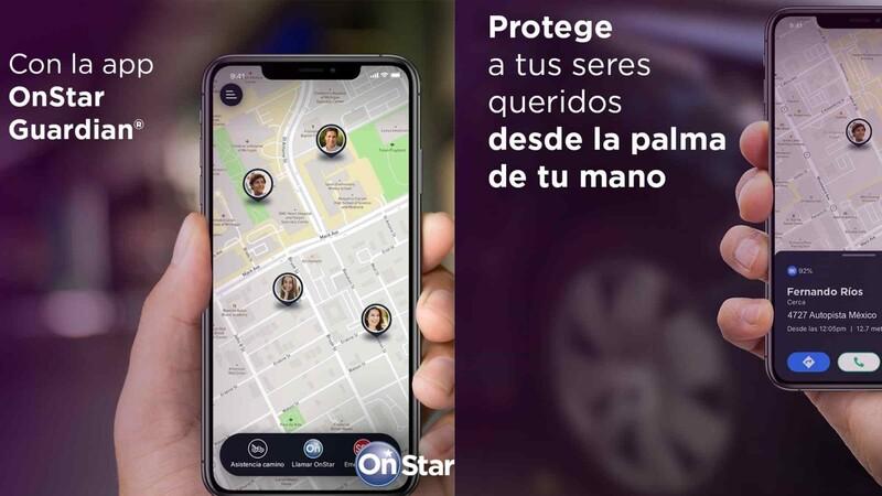 OnStar Guardian, la app de GM que no sólo te protege a tí, sino también a tus seres queridos