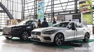 Volvo traerá a Chile más autos electrificados