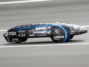 Guinness Récord: TUfast eLi14 , carro eléctrico más eficiente del mundo