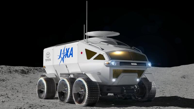 El Toyota Lunar Crusier explorará la Luna