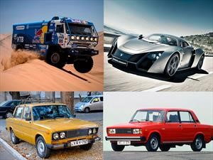 Top 10 de autos Made in Rusia