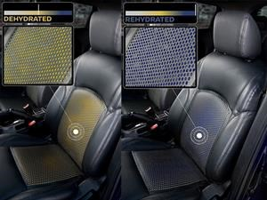 Nissan desarrolla asientos con detector de sudor