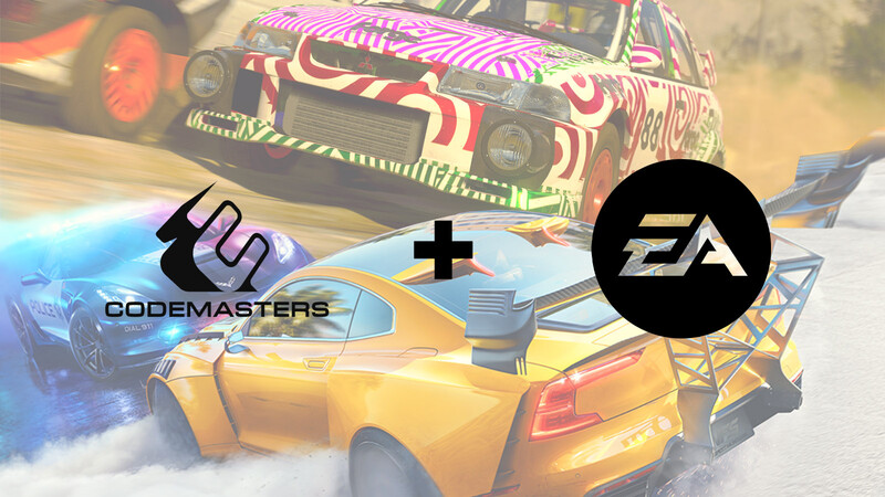 Electronic Arts absorbe a Codemasters, responsable de F1, Grid y DiRT