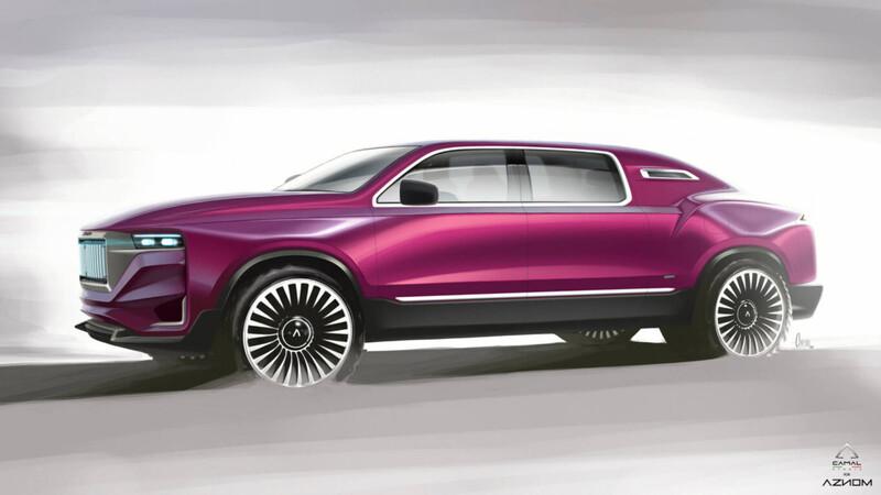 Aznom AutomotivePalladium, la limusina más lujosa
