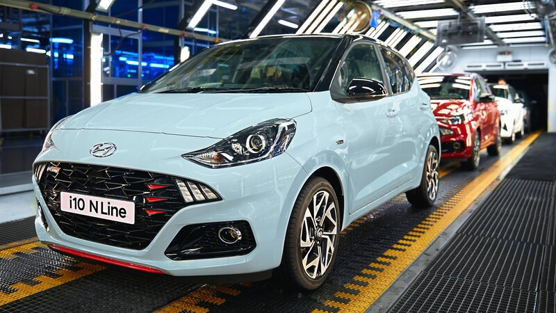 Hyundai inicia la producción del nuevo i10 N Line