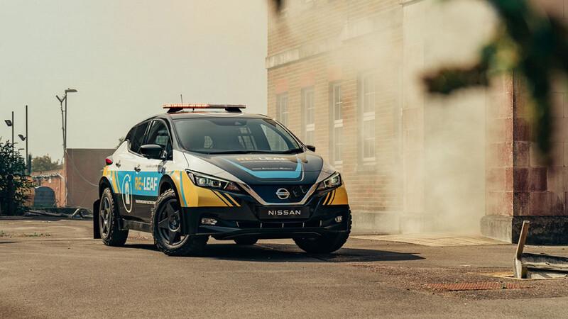 Nissan RE-LEAF, un eléctrico que te abastece de energía en caso de emergencia