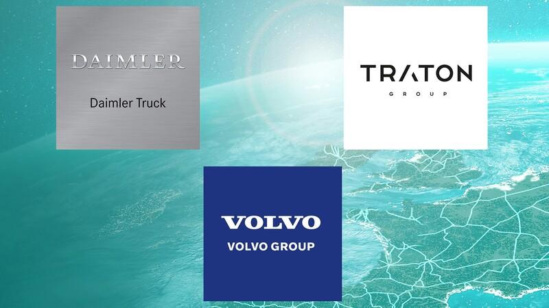 Daimler Truck, Traton Group y Volvo formarán una empresa de red carga para camiones eléctricos
