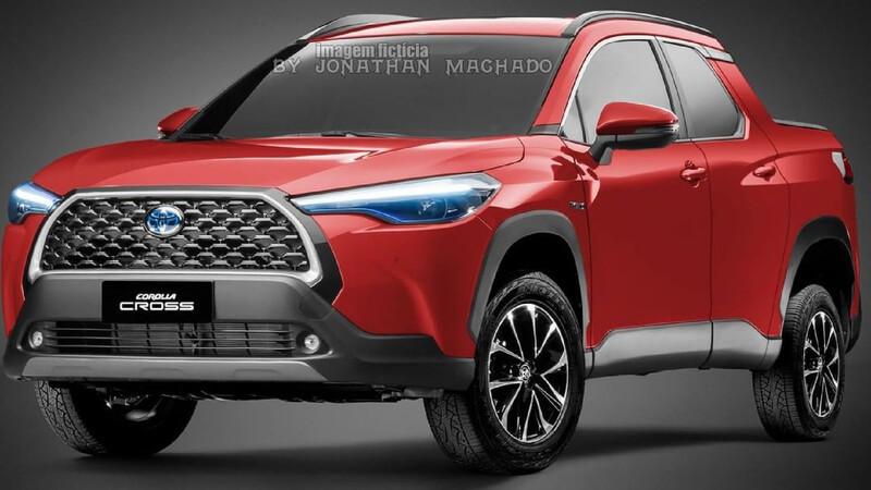¿Y si el Toyota Corolla Cross tiene una versión pick-up?