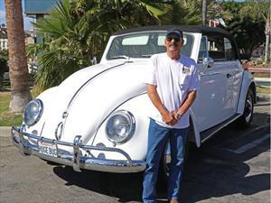 Crean un Escarabajo convertible gigante