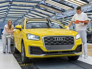 Audi Q2 2017, a producción