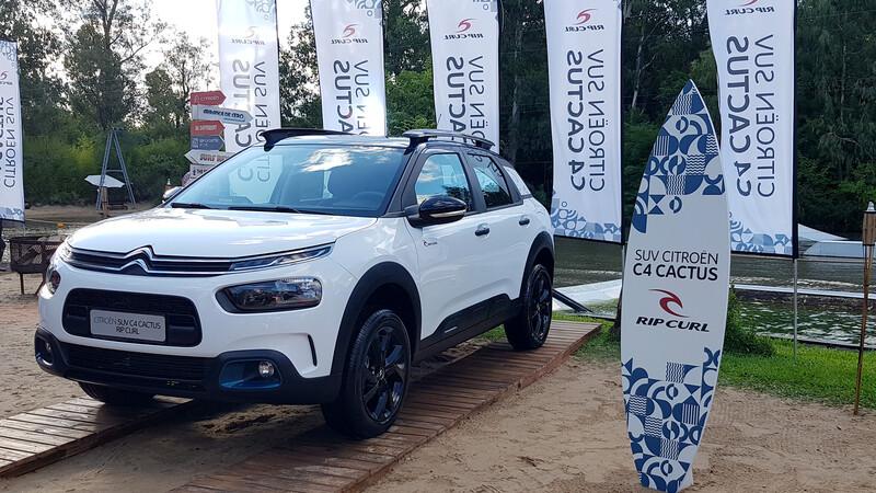 Citroën C4 Cactus Rip Curl 2021 se lanza en Argentina
