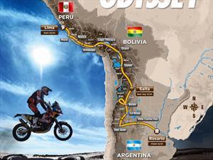 Así es el recorrido oficial del Dakar 2016