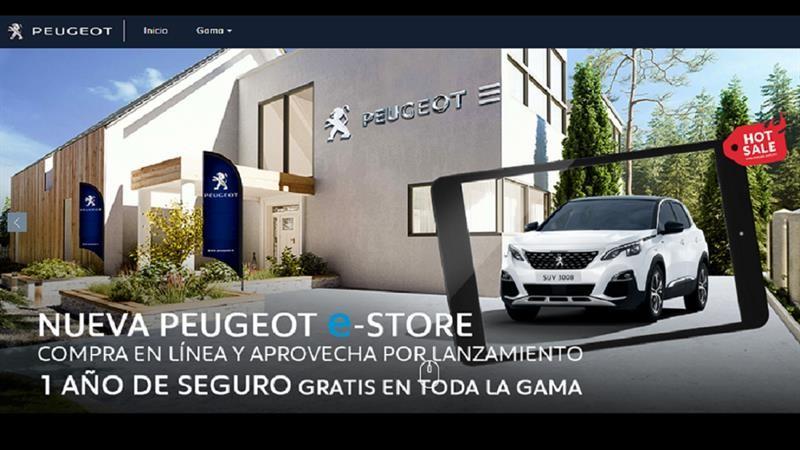 Peugeot e-store, la tienda virtual llega a México