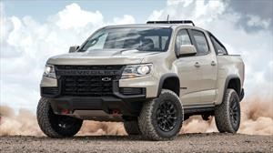 Chevrolet Colorado 2021 aparece con un look totalmente llamativo