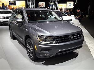 Volkswagen Tiguan Allspace 2018, de México para el continente