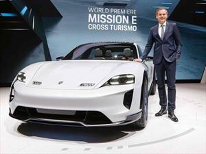 Porsche Mission E Cross Turismo, poderosa arma para el mundo eléctrico