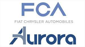 FCA se junta con Aurora, para desarrollar vehículos comerciales autónomos