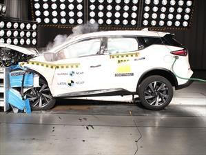 Nissan Murano 2018 es reevaluada con 5 estrellas en Latin NCAP