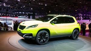 Peugeot Urban Crossover 2008 Concept se presenta en París