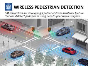 GM desarrolla tecnología para la detección de peatones vía Wi-Fi