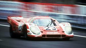 Así se hizo fama el Porsche 917, un vehículo de culto.