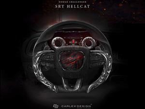 Carlex Design diseña volante para el Dodge Challenger SRT Hellcat