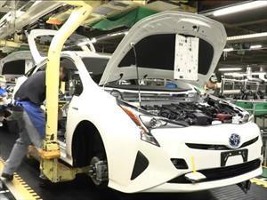 La línea de pintura del Toyota Prius es amigable con el medio ambiente