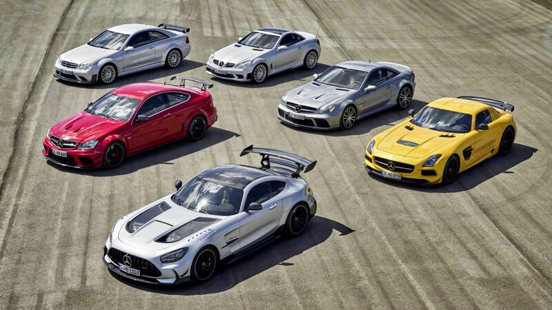 Estos son los antecesores del Mercedes-AMG Black Series GT