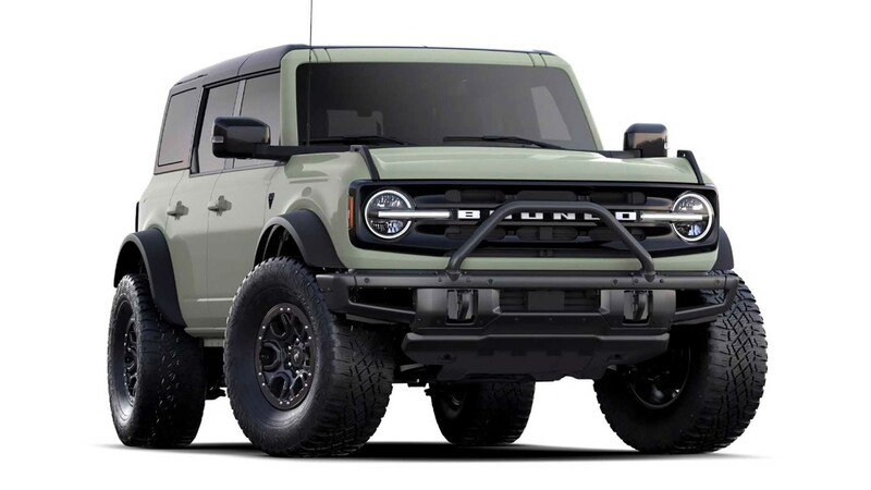 Se agotaron las 3,500 unidades del Ford Bronco First Edition