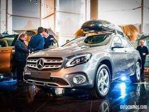 Mercedes-Benz GLA 2017 recibe nueva cara y equipamiento