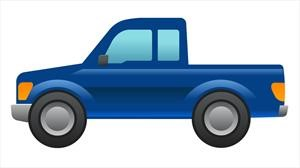 Ford F-150 hecha emoji