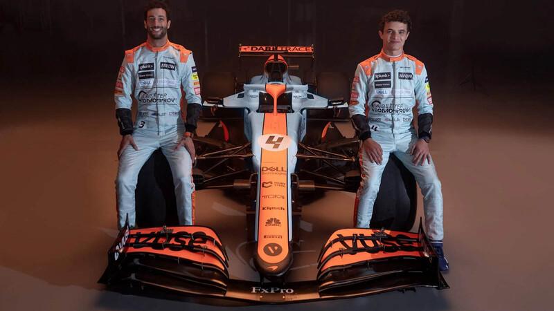 McLaren se engalana con los colores de Gulf para el GP de Mónaco