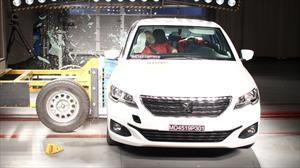 Peugeot 301 2019 obtiene tres estrellas en pruebas de choque de Latin NCAP