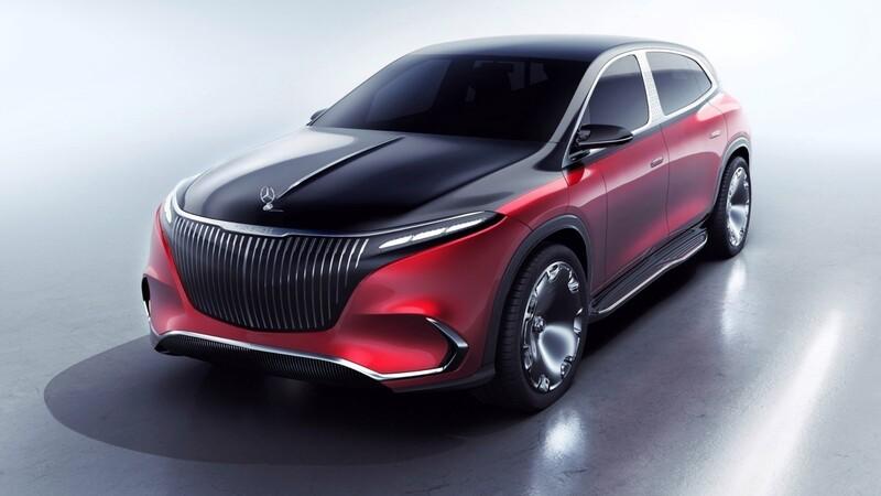 Mercedes-Maybach EQS Concept: exótico lujo eléctrico