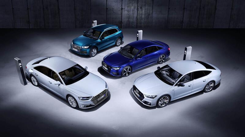 Audi ampliará su gama de variantes híbridas