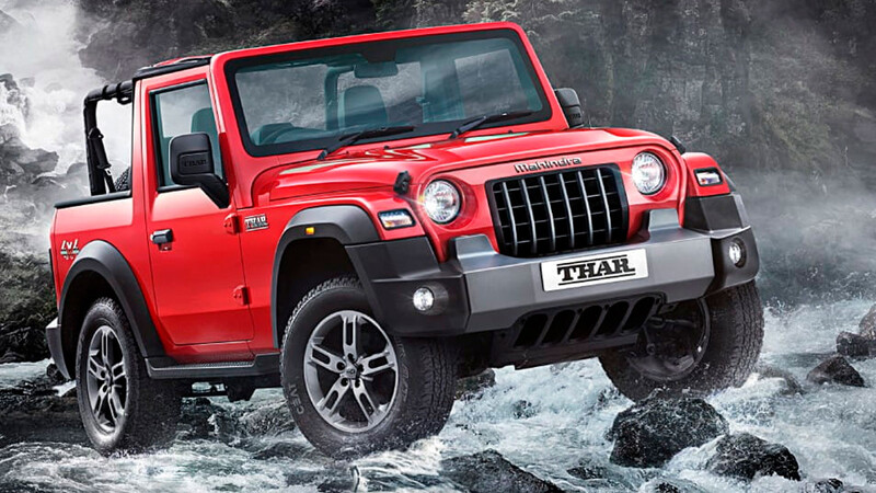 Mahindra Thar 2021, el pariente no reconocido del Jeep Wrangler se presenta en India