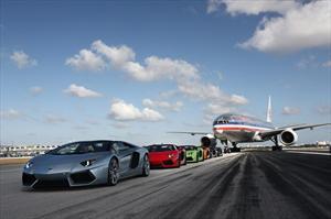 Lamborghini revoluciona Miami con el Aventador LP 700-4 Roadster