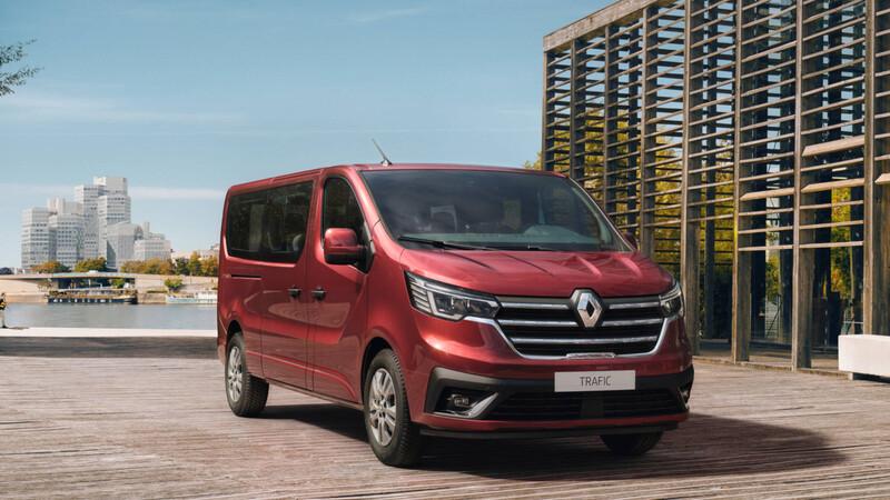 El minibús Trafic de Renault recibe mejoras para 2021