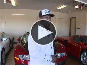 Floyd Mayweather y su colección de autos
