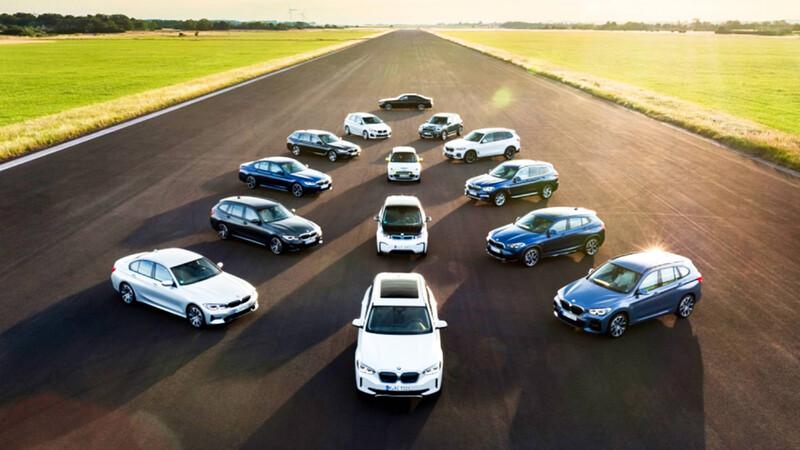BMW quiere tener 7 millones de autos electrificados en las calles para 2030