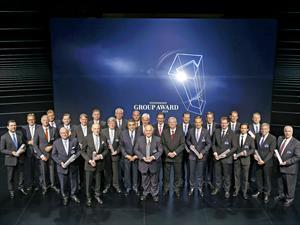 Grupo Volkswagen premia a los mejores proveedores de 2015