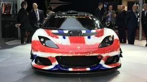Lotus Evora GT4 Concept, con el ojo de tigre