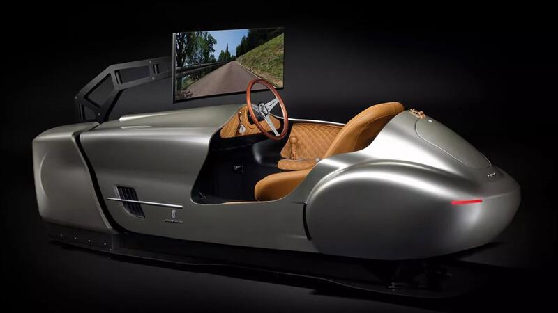 Pininfarina Leggenda, simulador de autos con estilo vintage