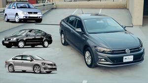 ¿Qué tiene en común el Volkswagen Virtus con Derby y Vento?